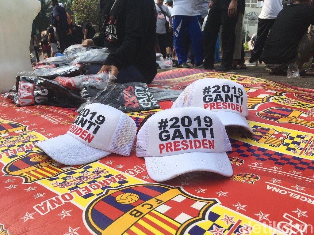 #2019GantiPresiden Ramai di CFD, Presiden PKS: Itu Hak Warga