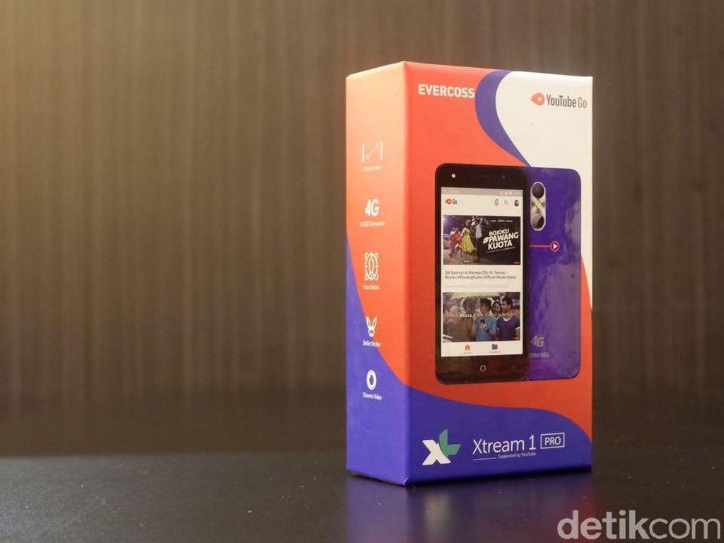 Unboxing Xtream 1 Pro, Ponsel 4G Rp 720 Ribu