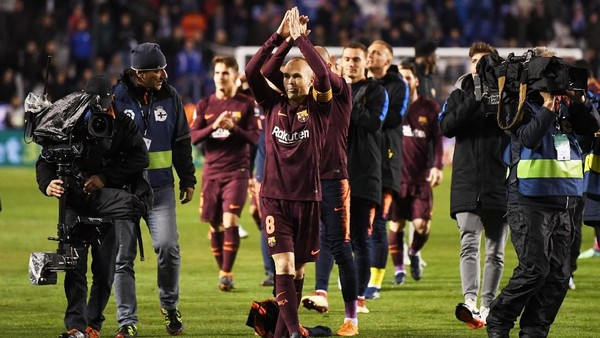 Gelar Terakhir Iniesta bersama Barcelona