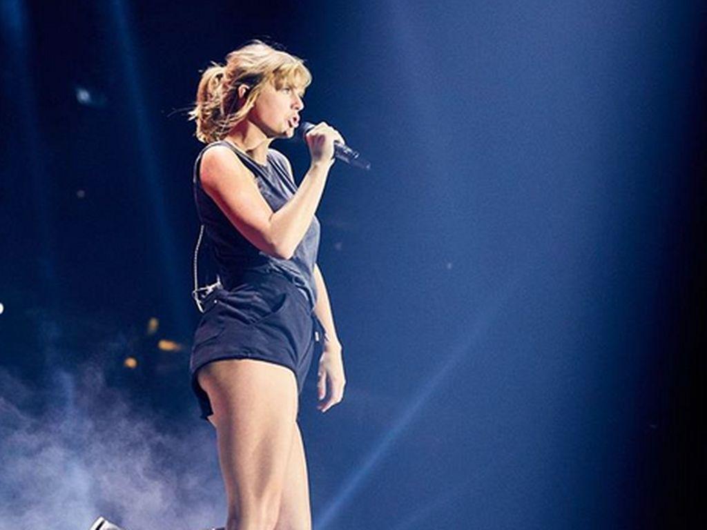 Begini Serunya Taylor Swift Latihan Sebelum Reputation Stadium Tour