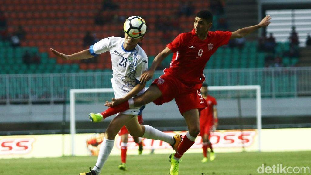 Uzbekistan vs Bahrain Berakhir Imbang
