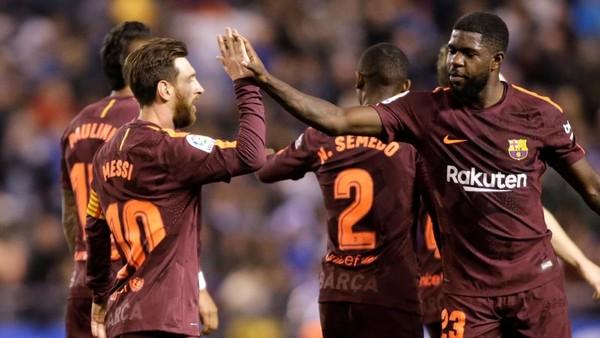 Barcelona Juara La Liga 2017/2018