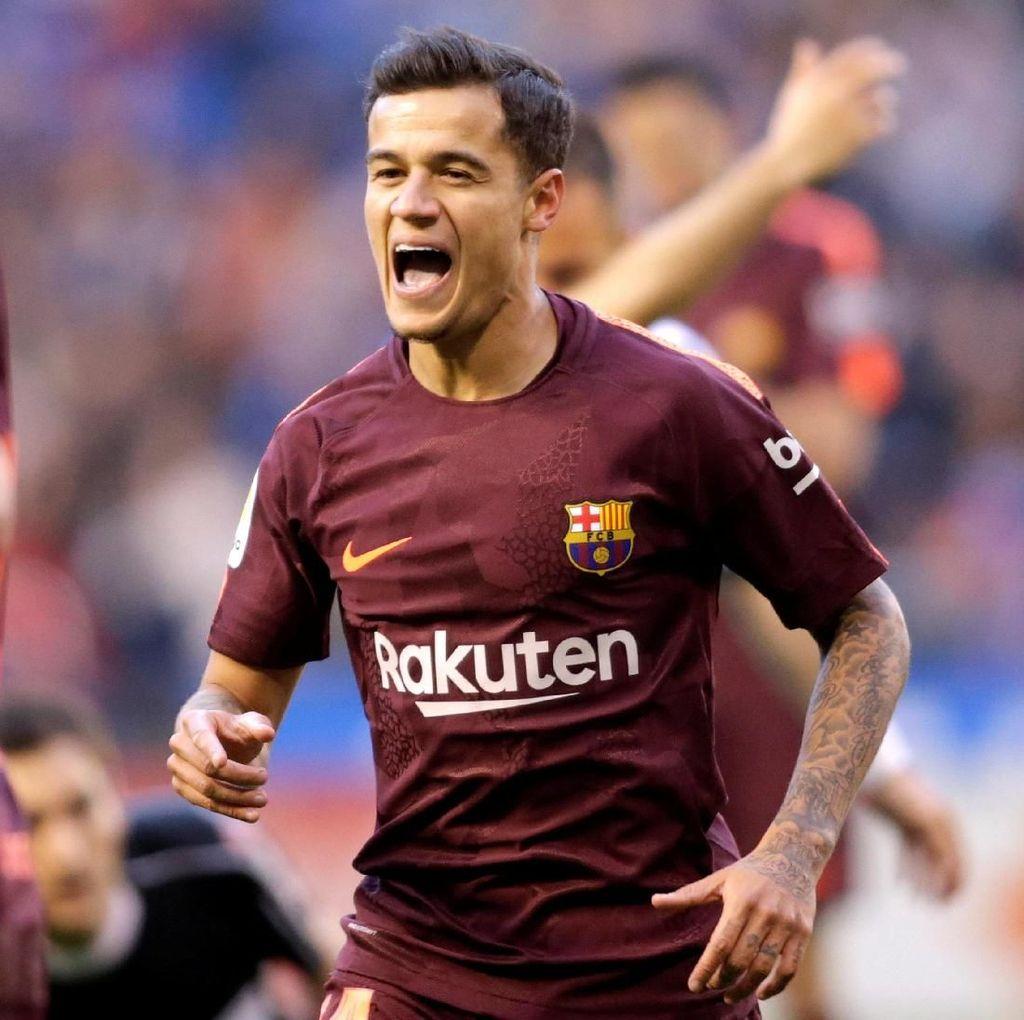Barcelona Favorit Juara atau Bukan, Coutinho Serahkan ke Media
