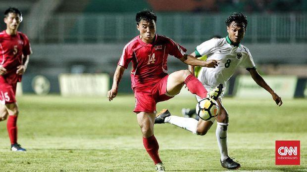 Timnas Indonesia meraih poin perdana di PSSI Anniversary Cup.