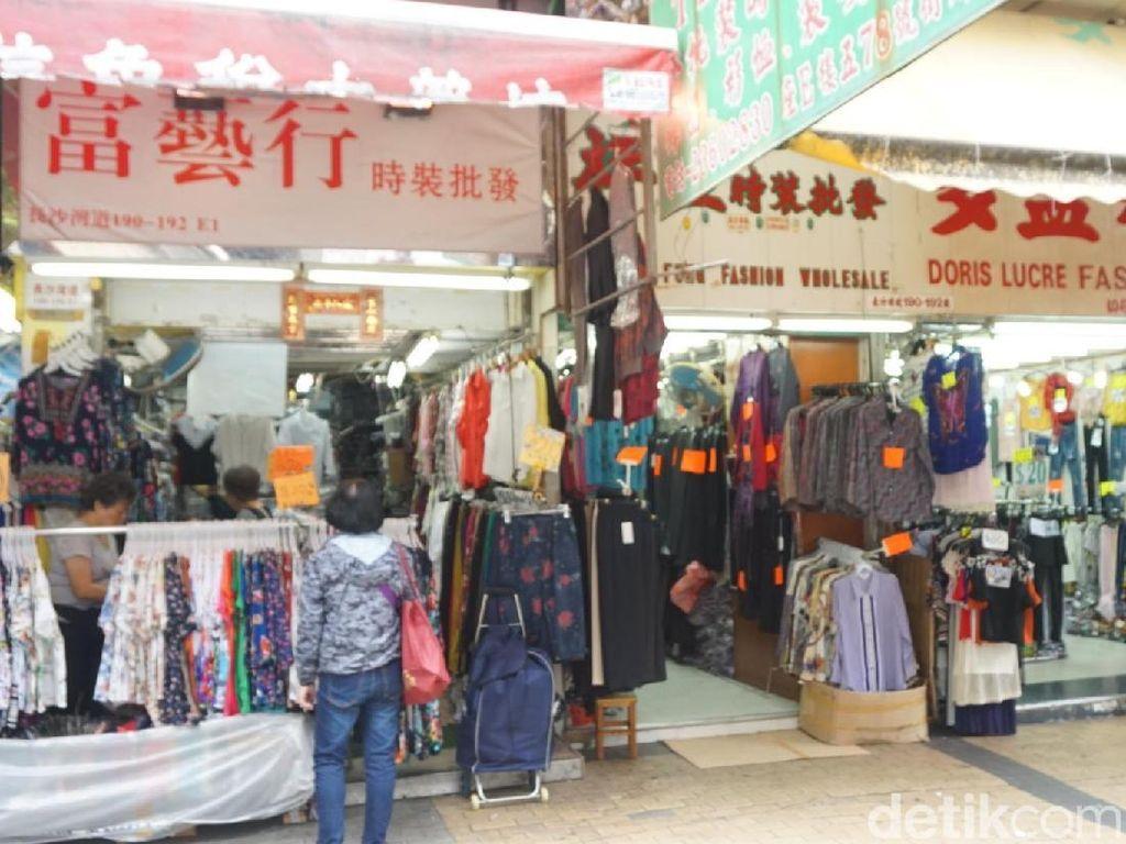 Foto: Ini Tempat Belanja Ramah Kantong di Hong Kong