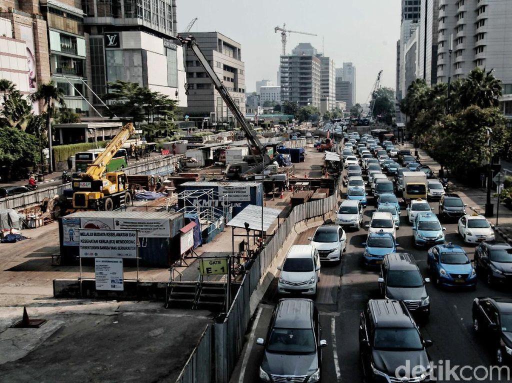 Progres Pembangunan MRT Saat ini Capai 93%