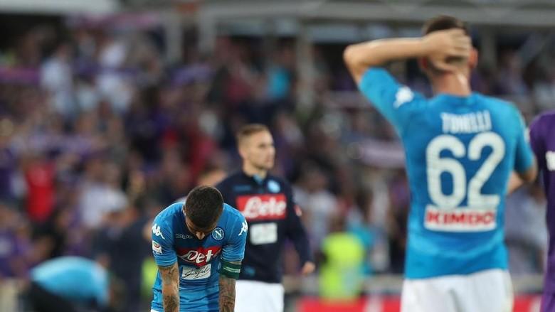 Pekan Menyakitkan Hysaj: Napoli Dikalahkan Fiorentina, Juventus Menang atas Inter