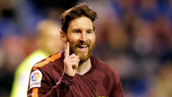Di Balik Hat-trick Messi Saat Mengantar Barcelona Juara