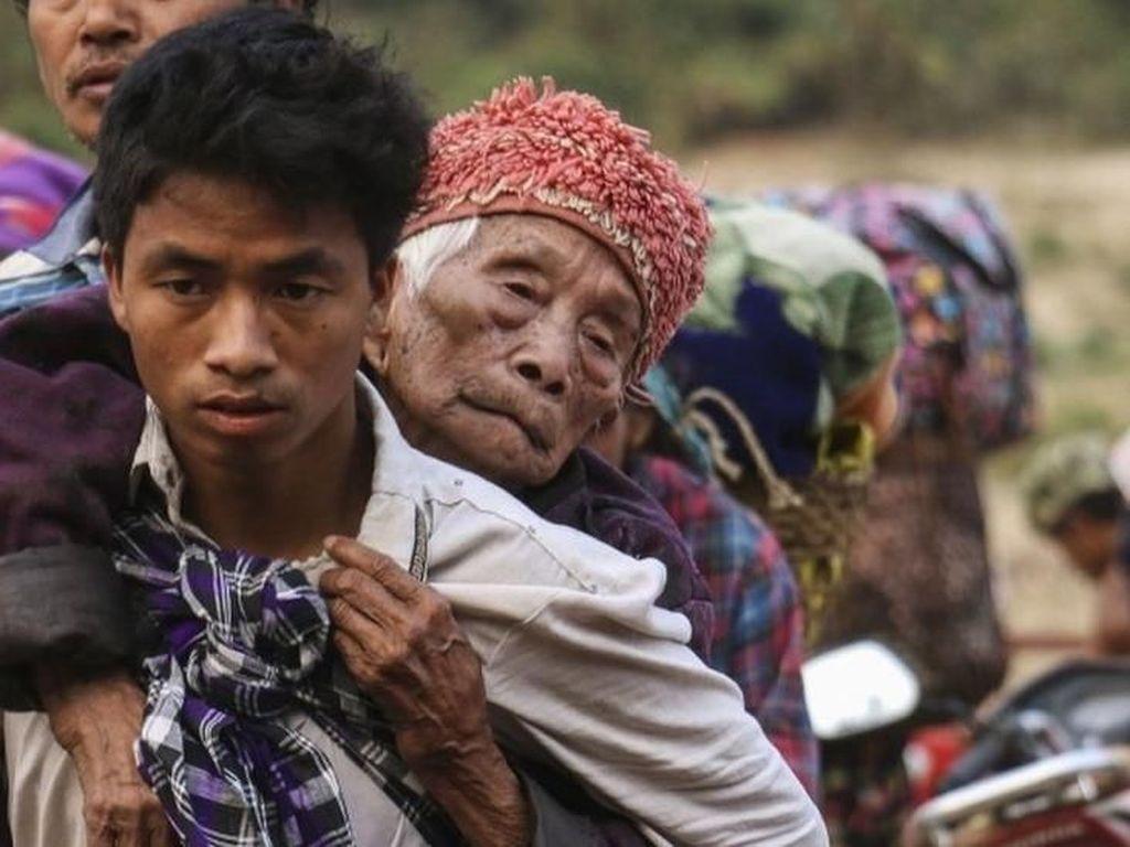 Masalah Rohingya Belum Selesai, Ribuan Orang Kachin Kabur di Myanmar