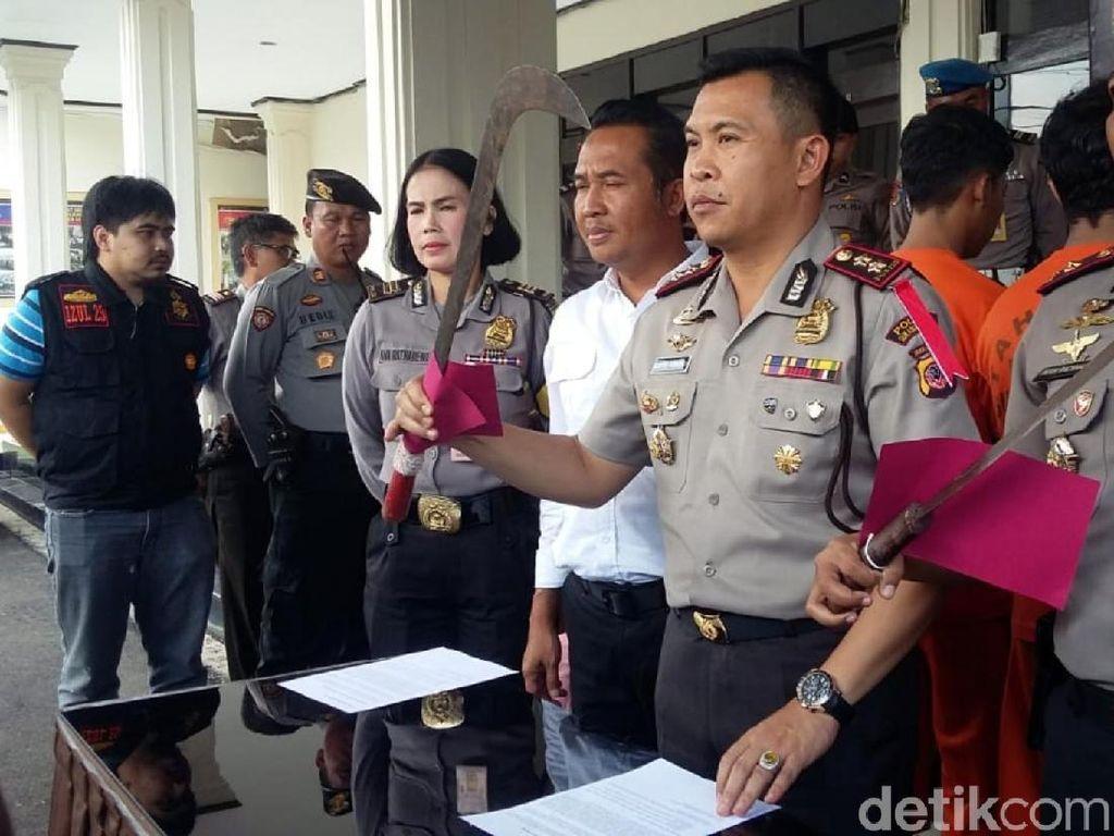 Polisi Buru 2 Buronan Pembacok Anggota XTC Sukabumi