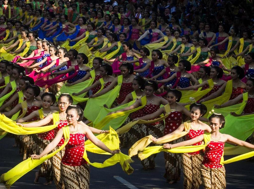 Hari Tari, Ribuan Penari Beraksi 24 Jam Nonstop di Solo 29 April