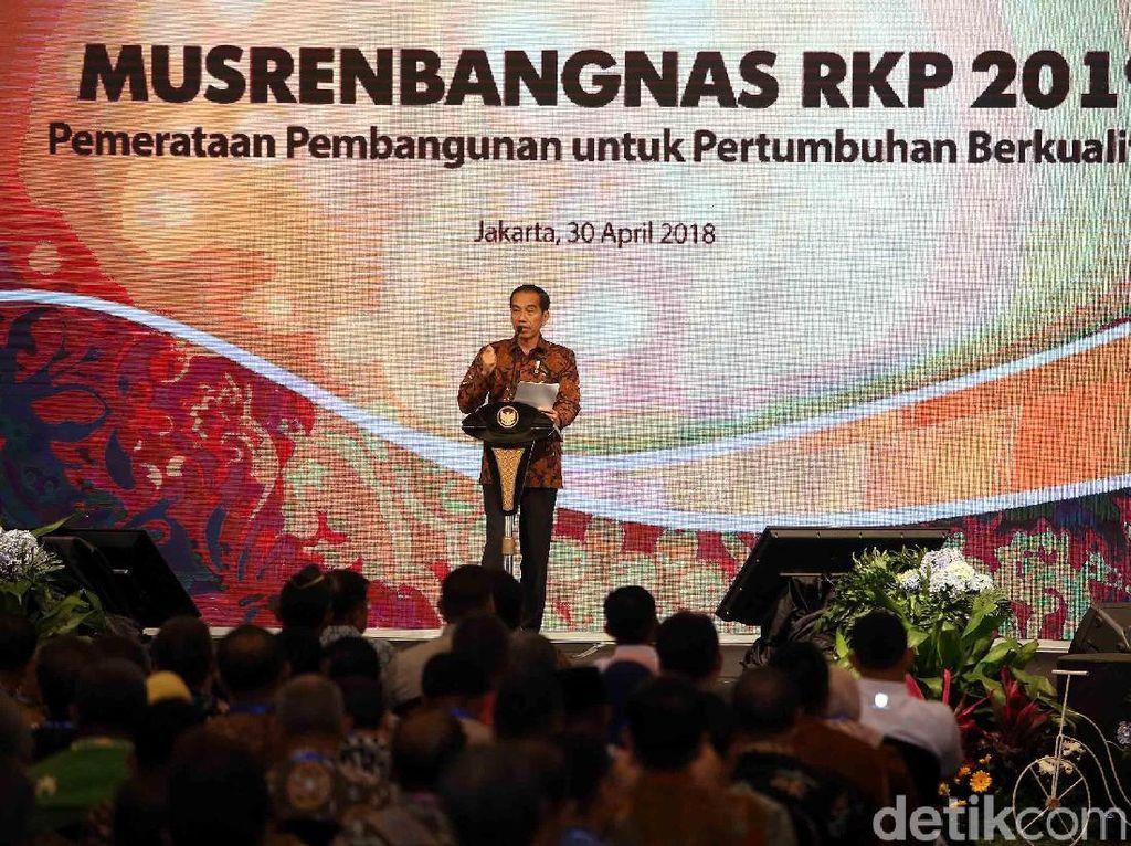 Presiden Jokowi Buka Musrenbangnas Tahun 2019