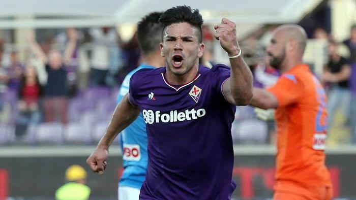 Pemain Fiorentina, Giovanni Simeone. (Foto: Gabriele Maltinti/Getty Images)