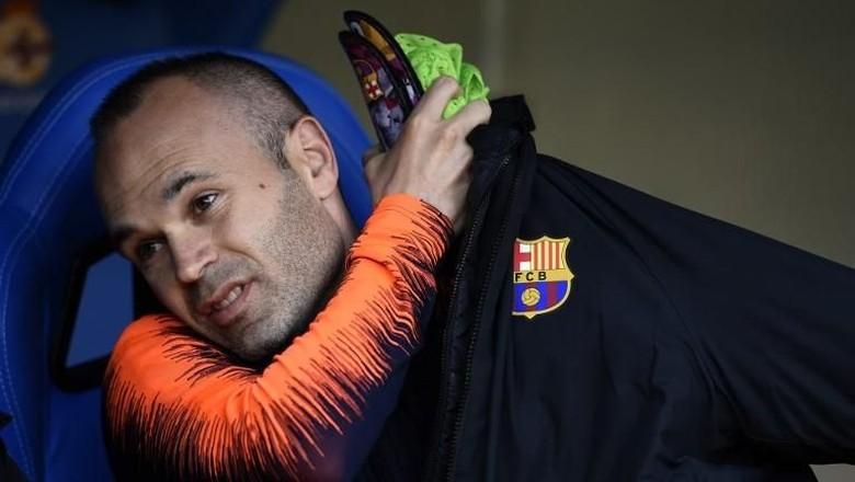 Valverde Berharap Iniesta 100% Fit untuk El Clasico