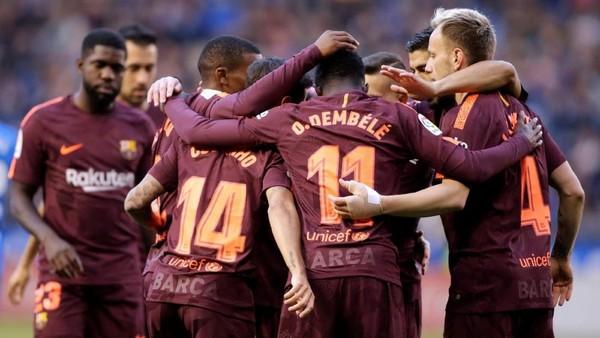 Messi Hat-trick ke Gawang Deportivo, Barca Kunci Titel Juara