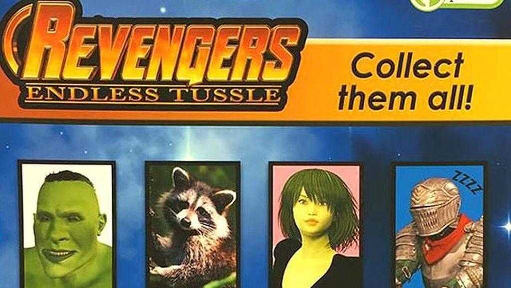 Produk KW Avengers Ini Bikin Ngakak