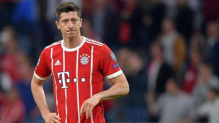 Robert Lewandowski santer dikabarkan akan meninggalkan Bayern Munich (Foto: Thorsten Wagner/Reuters)