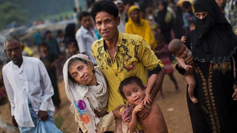 Australia Minta Pengungsi Rohingya Jangan Dipulangkan Dulu