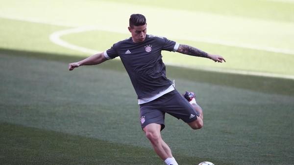 James Tak Bikin Perayaan Jika Cetak Gol ke Gawang Madrid