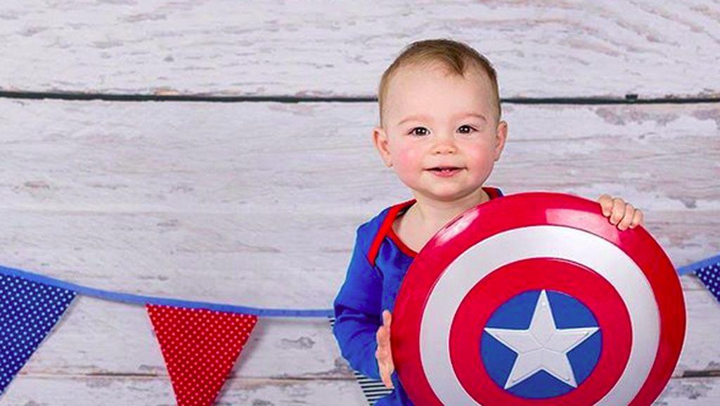 Aksi Avengers Cilik yang Bisa Bikin Senyum-senyum Sendiri