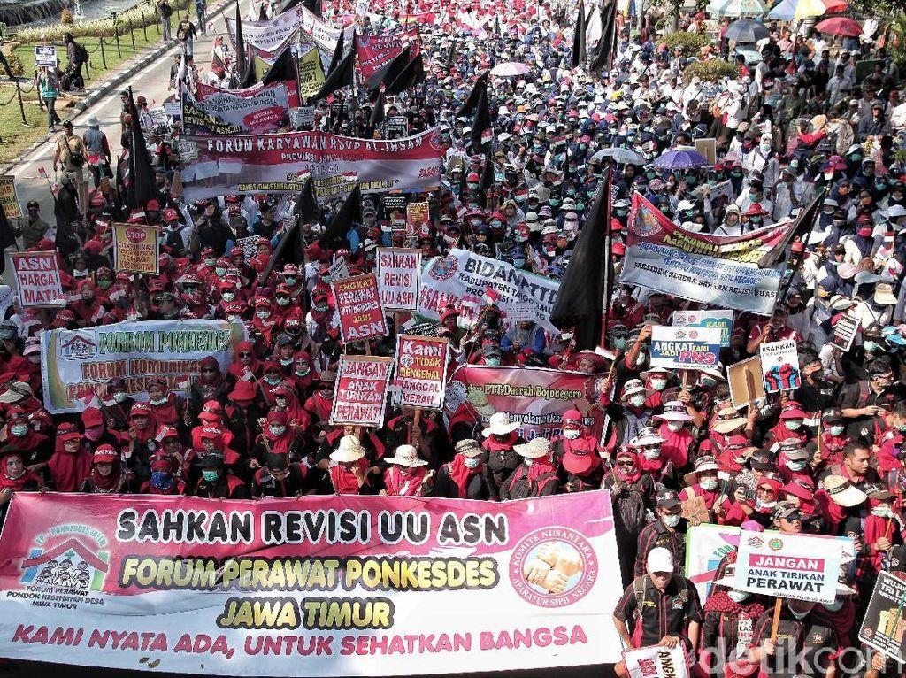 Perayaan May Day di Jadetabek Terpusat di 8 Lokasi
