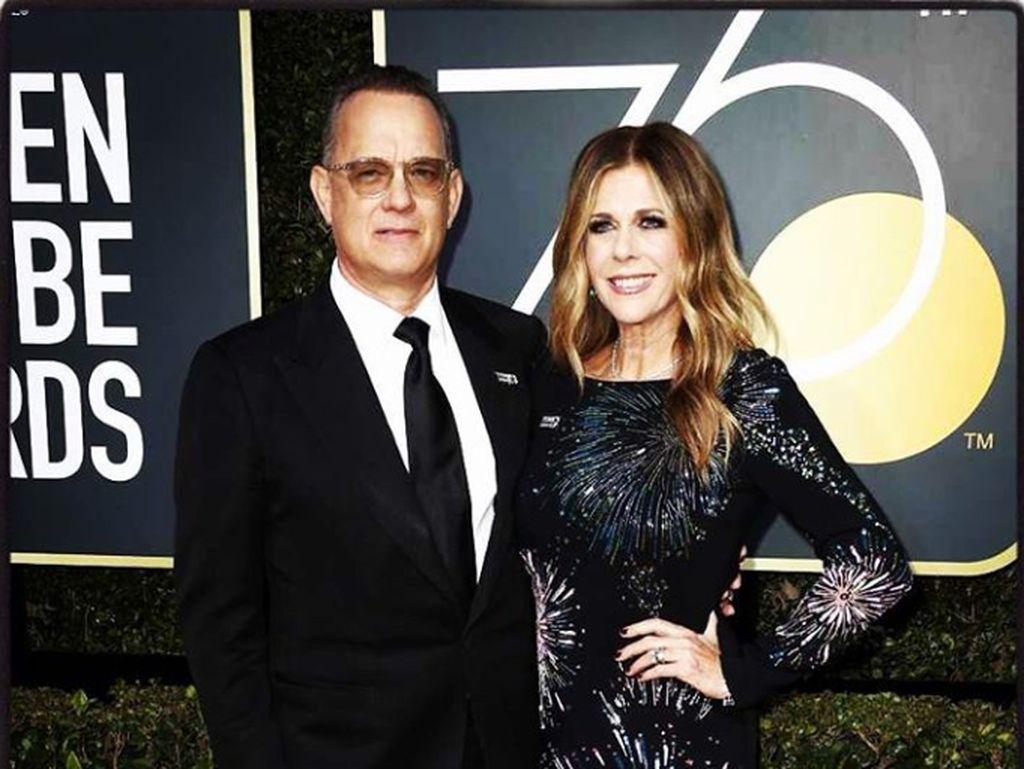 Kisah Penyembuhan Tom Hanks dan Rita Wilson dari Corona