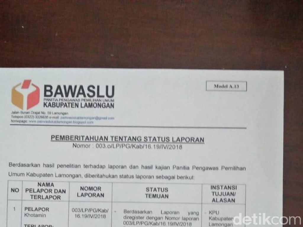 Petugas PKH Kampanye Terselubung, Ini Rekomendasi Panwaslu Lamongan