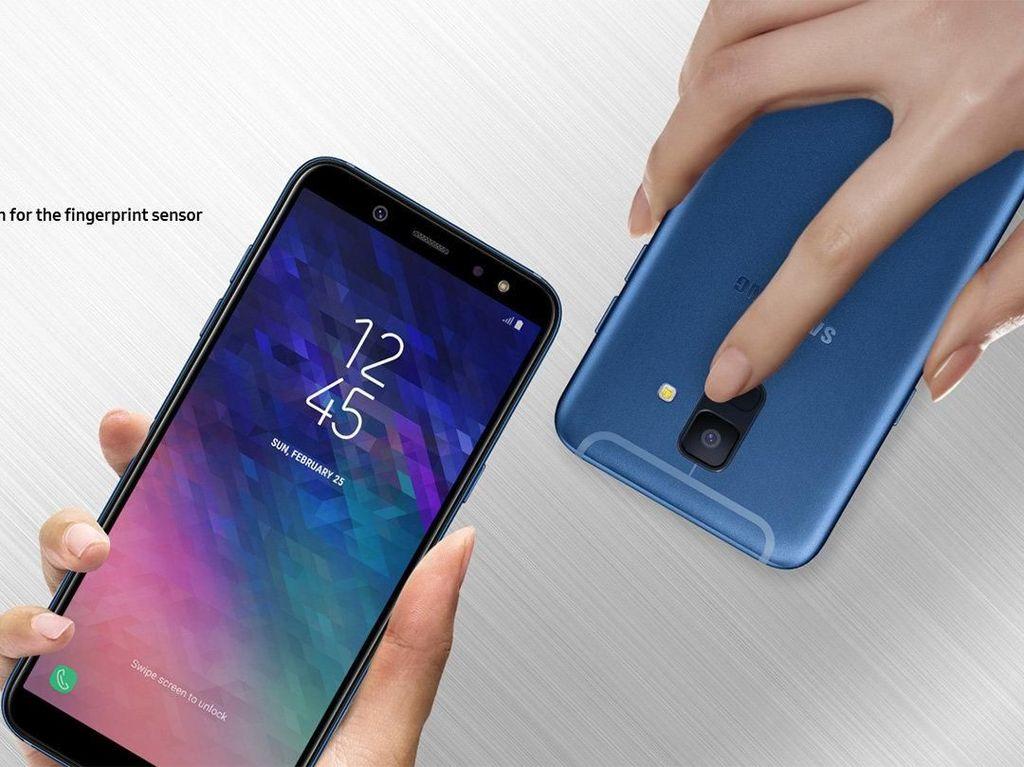 Belum Dirilis, Samsung Indonesia Pamer Galaxy A6 dan A6+
