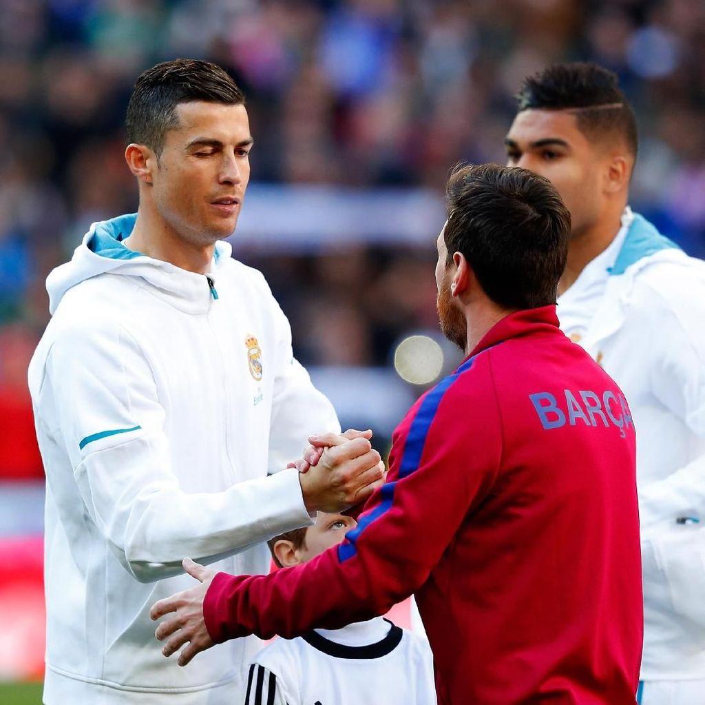 Ke Italia, Ronaldo Ingin Tegaskan Diri Lebih Baik dari Messi