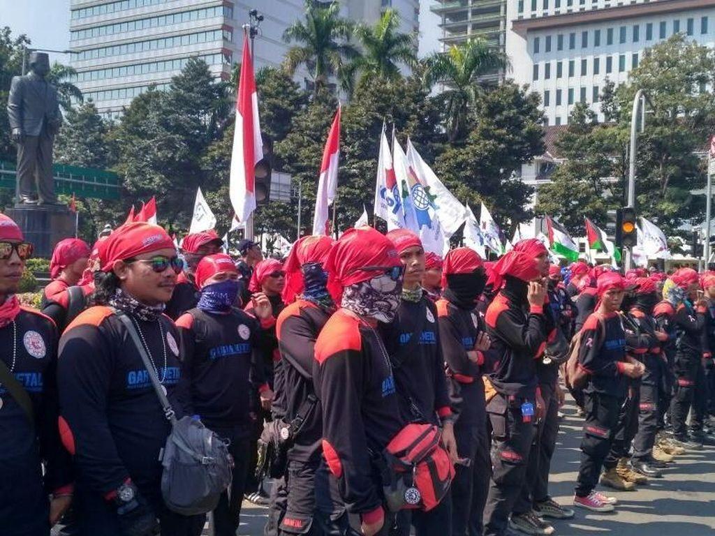 Akan Dikawal Polisi ke Jakarta, Massa Buruh Dilarang Blokir Pintu Tol