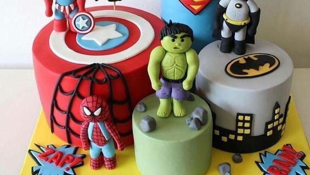 Demam Avengers, Begini 10 Kue Lucu Bertema Superhero Marvel