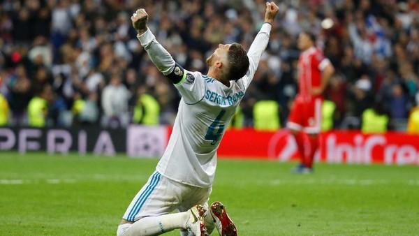 Ramos: Madrid Memang Lebih Baik dari Bayern