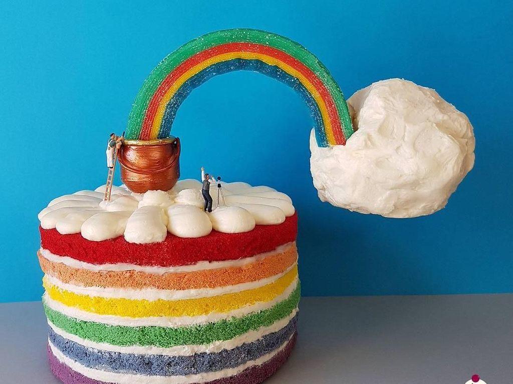 Keren! Ini 10 Kreasi Kue dan Aneka Miniatur Buatan Pastry Chef