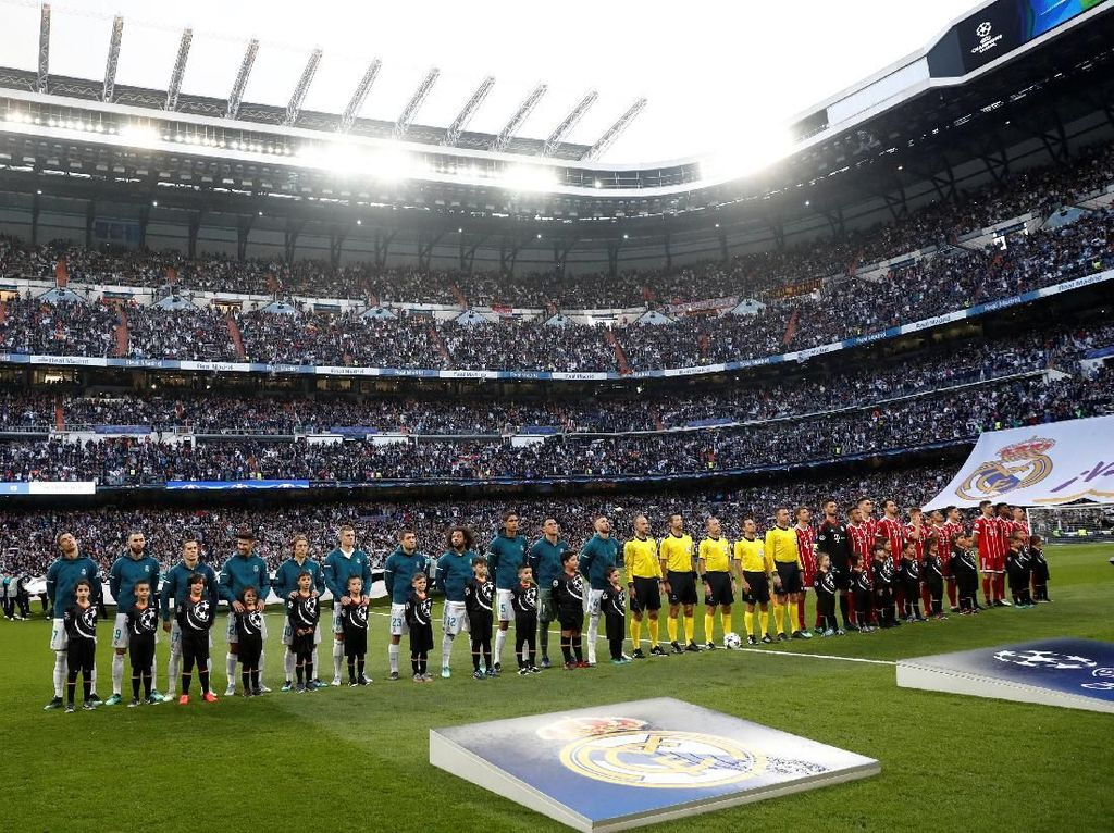 Foto: Madrid ke Final Liga Champions Lagi