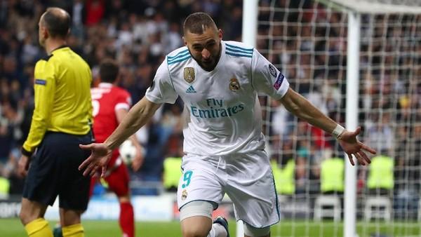 Karim Benzema Akhiri Puasa Gol di Saat yang Tepat