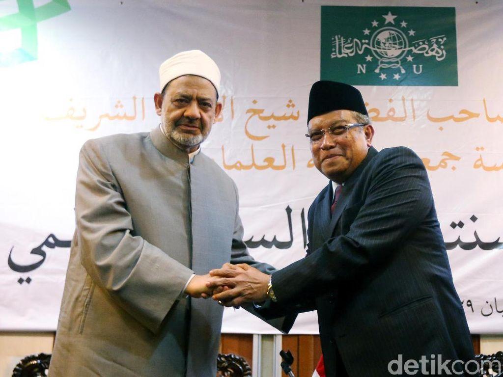 PBNU: Imam Besar Al-Azhar Bilang Medsos Banyak Dipakai Adu Domba