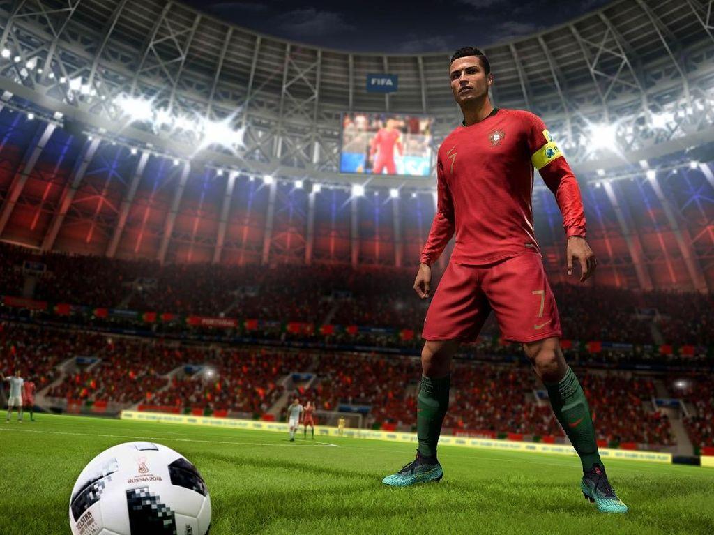 Foto: Piala Dunia 2018 Mampir di FIFA 18