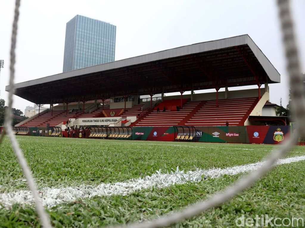 Mengintip Kandang Baru Bhayangkara FC di PTIK