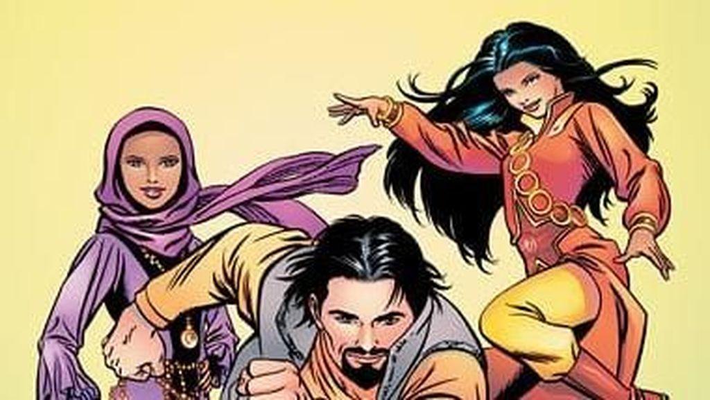 Tak Kalah Keren dari Avengers, Tim Superhero Ini Pakai Hijab Hingga Burqa