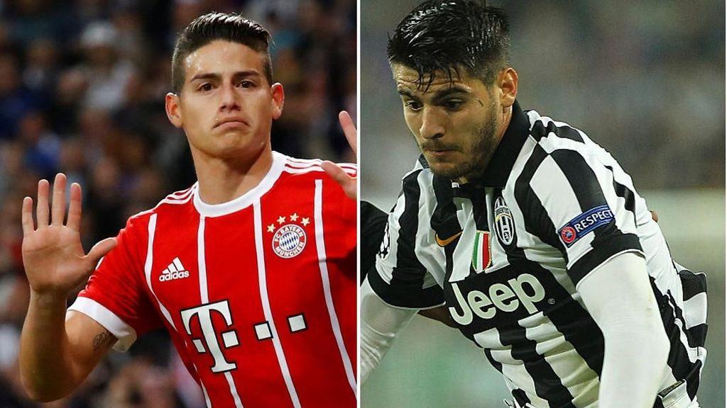7 Pemain Bersatus Kawan/Lawan Real Madrid di Liga Champions