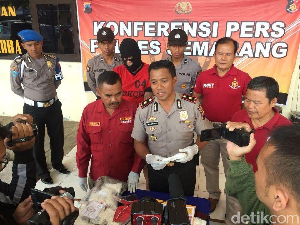 Polisi Semarang Amankan 80 Ribu Pil Koplo Siap Edar
