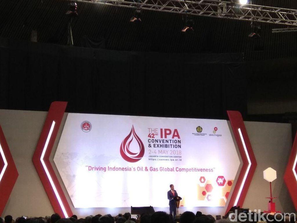 Jokowi Sebut Industri Migas Tak Banyak Dilirik Milenial