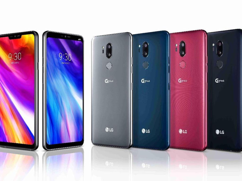 Ponsel LG G7 ThinQ Resmi Dirilis, Ini Keunggulannya!