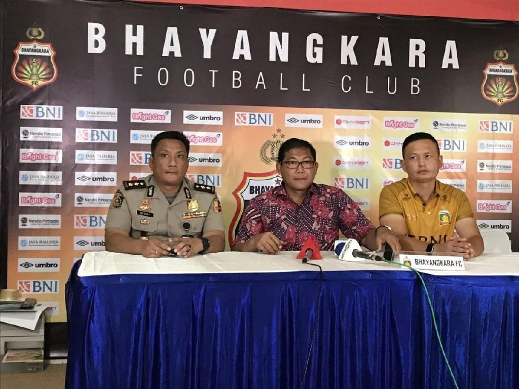 Bhayangkara FC Sudah Siap Berkandang di PTIK