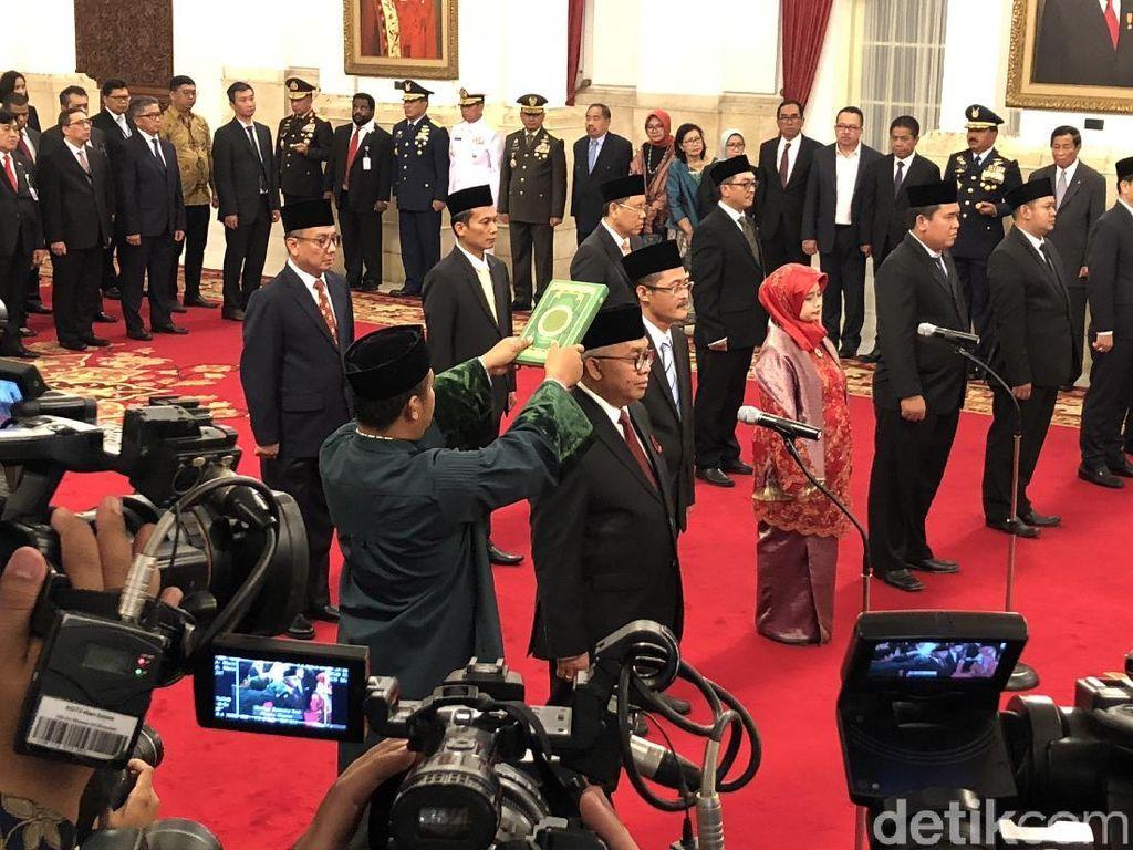 Jokowi Lantik Salman Al Farisi Jadi Dubes Afrika Selatan