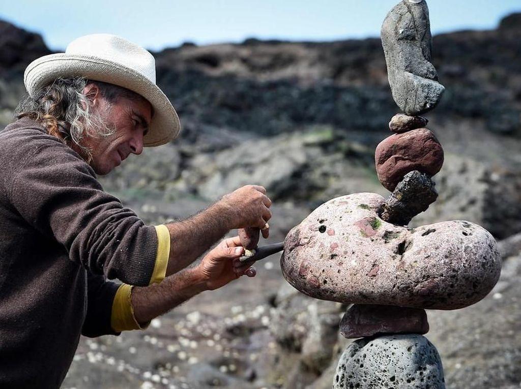 Foto: Kerennya Kompetisi Susun Batu di Eropa