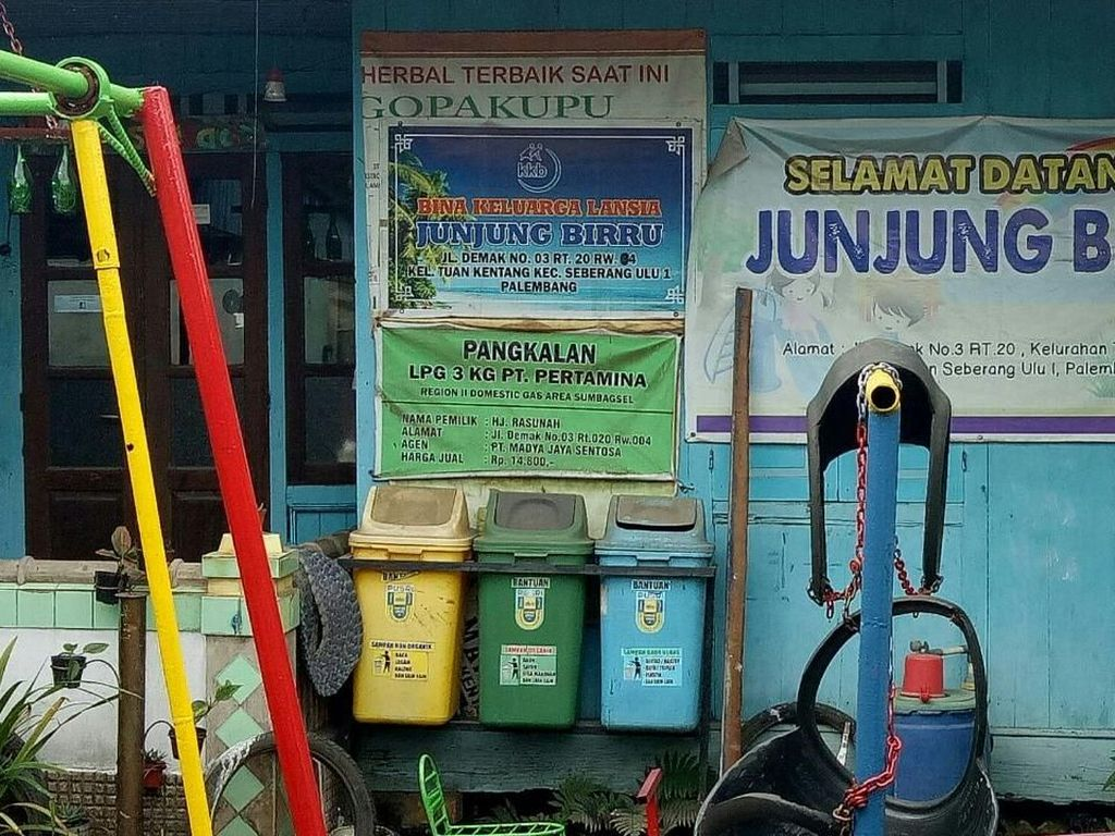 Keren! TK di Palembang Ini Bayar Biaya Sekolah Pakai Sampah