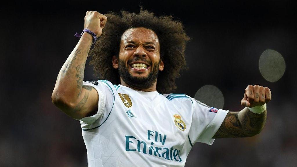 Anak Marcelo Pamer Keahlian di Ruang Ganti Madrid