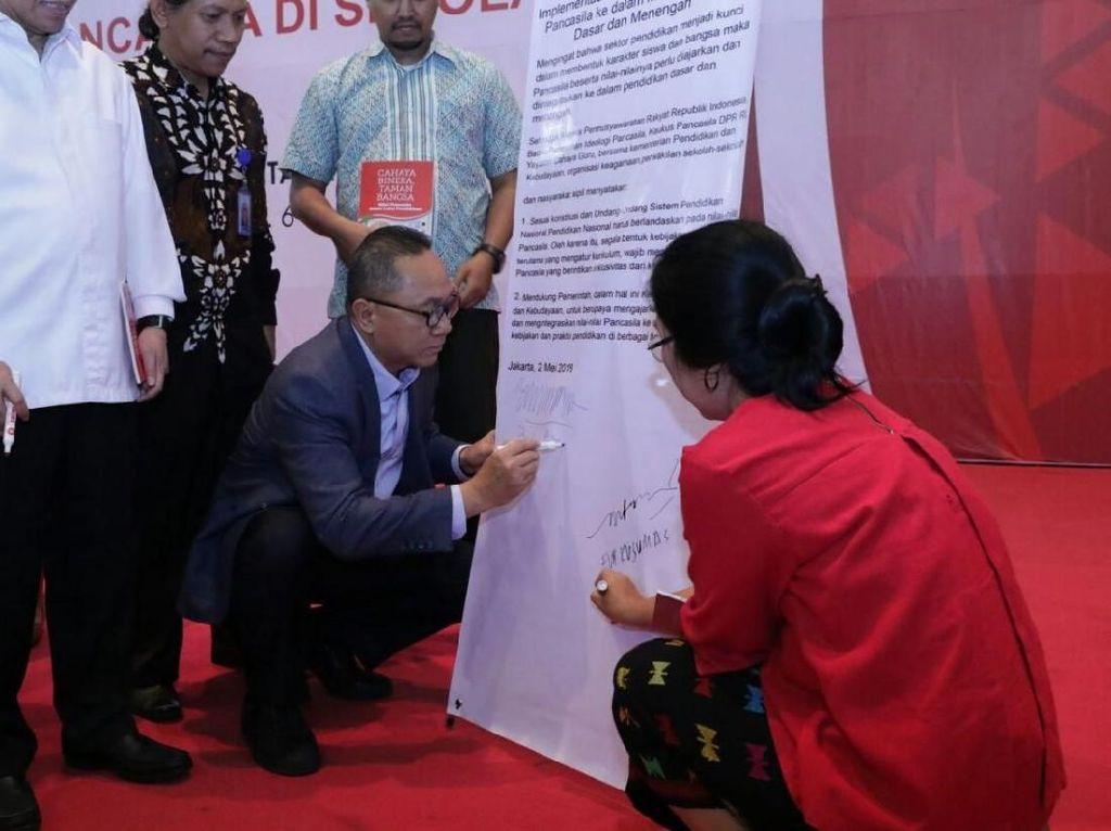 Ketua MPR Pimpin Deklarasi Pengajaran Pendidikan Pancasila