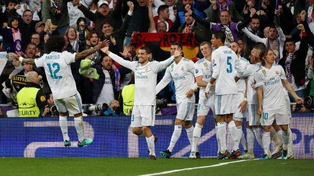 Real Madrid mesti waspada dengan rapor pertemuan mereka melawan Liverpool di Liga Champions.